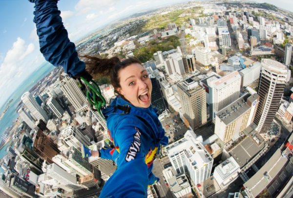 Bungy Jump Sky Tower