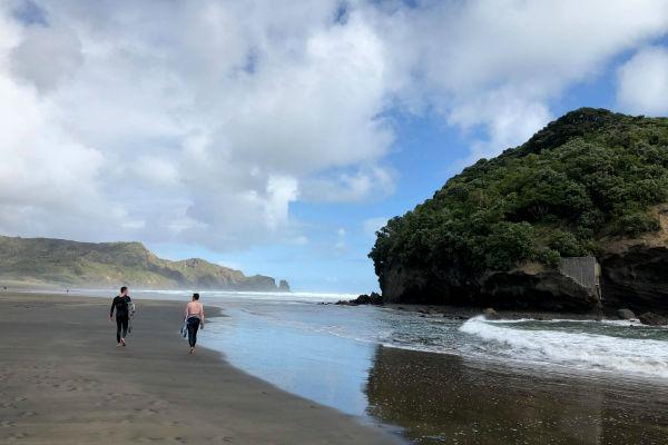West Coast Beach Auckland